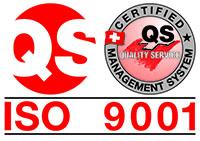CDV ISO 9001 certificate